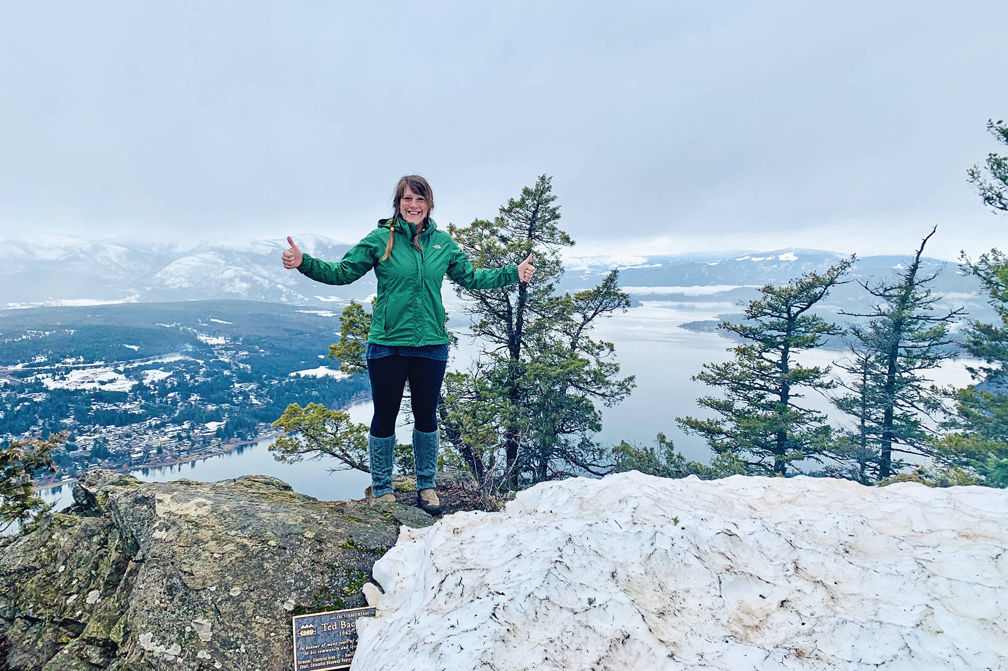 Shuswap Adventure Girl Sarah Tokarek has a particular passion for hiking trails around Blind Bay and the South Shuswap. (Contributed)